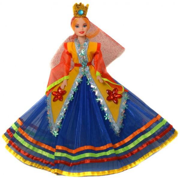 عروسک سفره هفت سین زن شمالی آبی