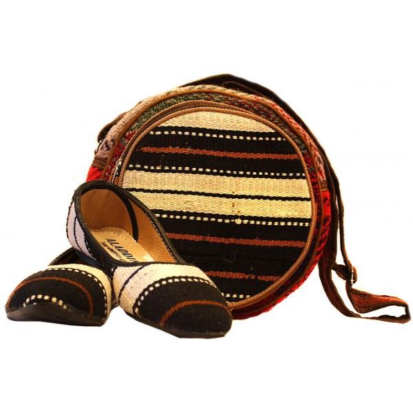 کیف و کفش گلیمی 1210