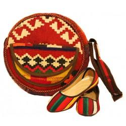 کیف و کفش گلیمی 1218