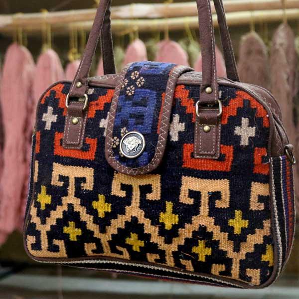 کیف گلیمی آهو
