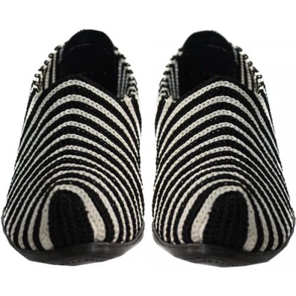 کفش قیصری پاشنه بلند گیوه