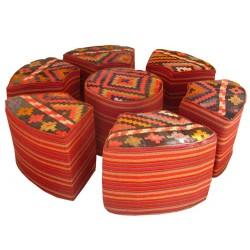 مبل سنتی گلیمی 6 نفره m45