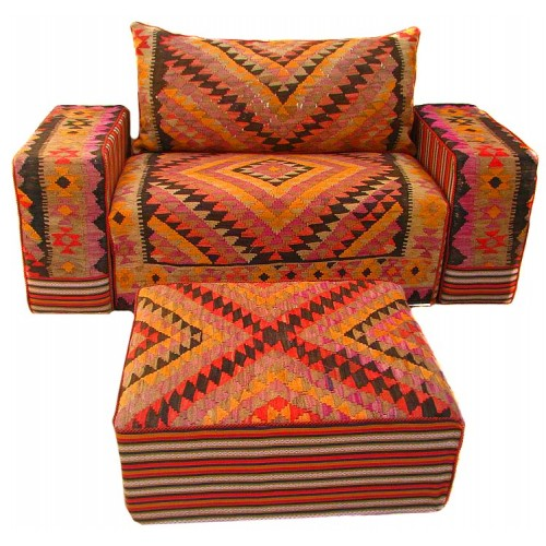 کاناپه سنتی گلیمی m46