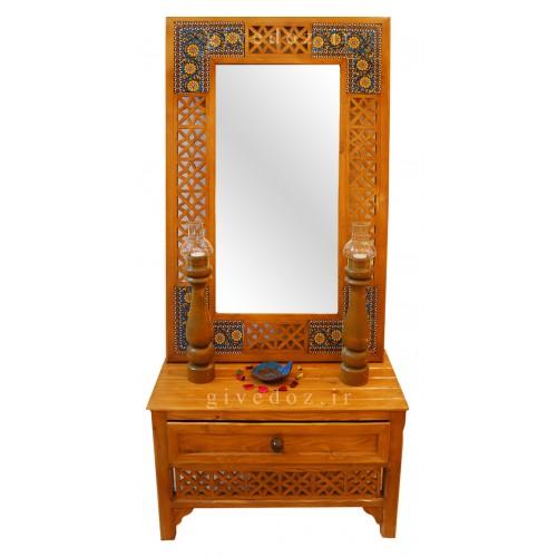 آینه و کنسول گره چینی