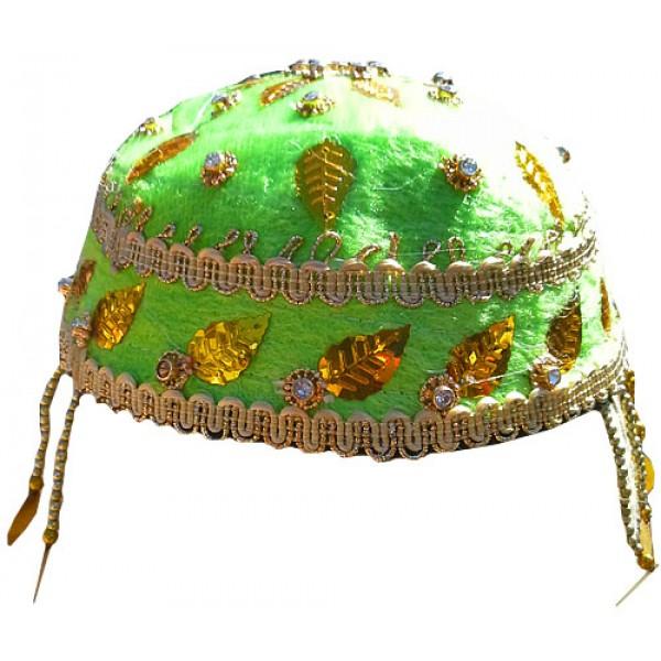 کلاه سنتی سبز