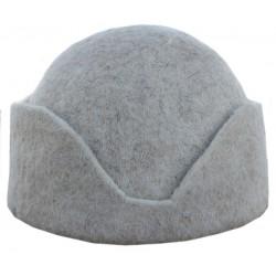 کلاه قشقایی سفید نمدی