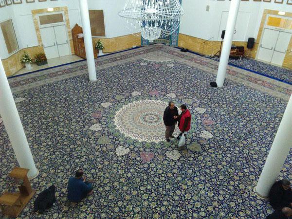 فرش بزرگ برای مسجد