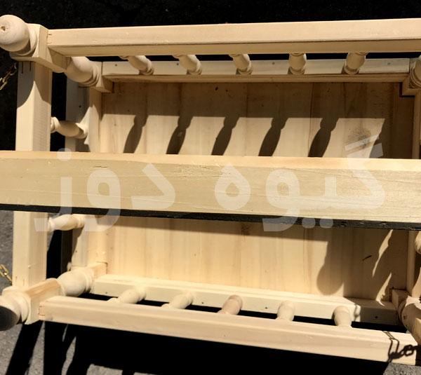 خرید گهواره سنتی چوبی