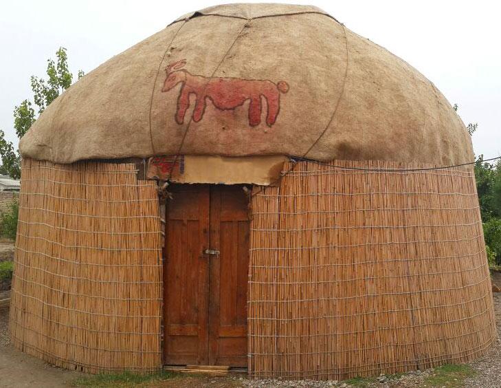 چادرهای ترکمنی
