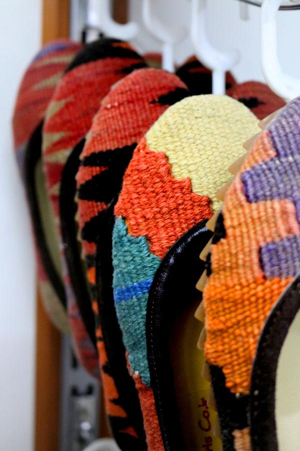 انواع کفش گلیمی