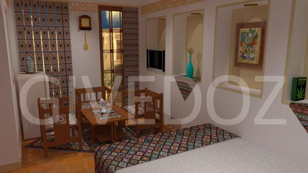 عکس دیزاین منزل سنتی