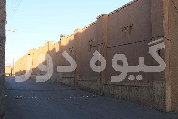 ساخت دیوارهای قدیمی