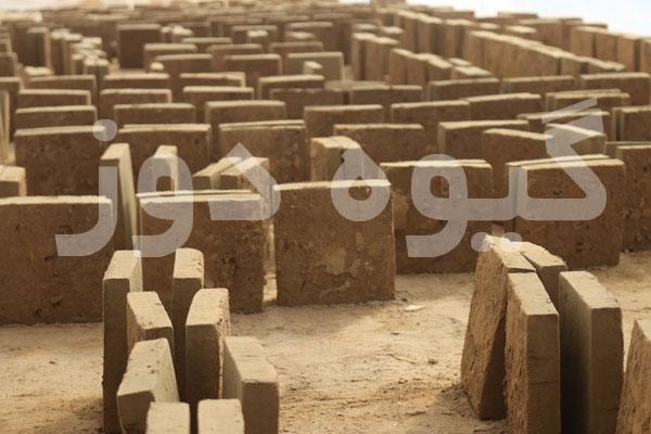 ساخت دیوار خشتی نازک