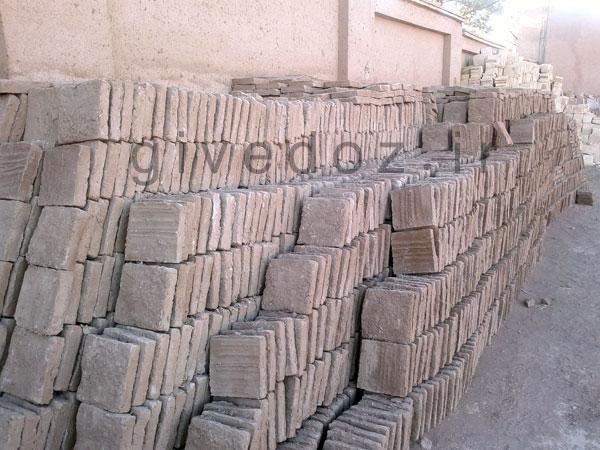 خرید آجر خشتی سنتی