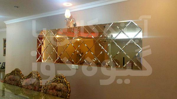 آینه کاری منازل سعادت آباد