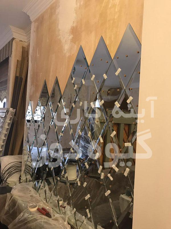 آینه کار حرفه ای در تهران