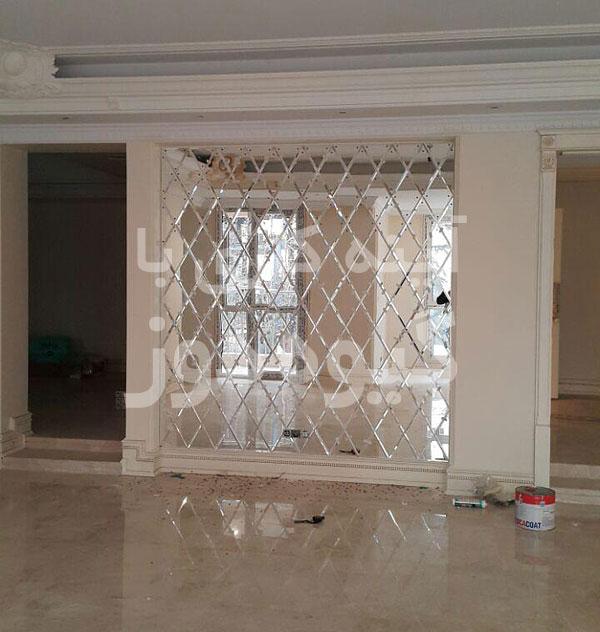 آینه کاری های منازل زعفرانیه