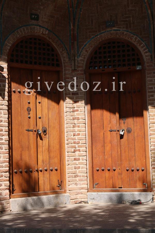 ساخت درهای قدیمی در ایران