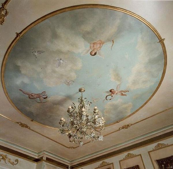 اجرای نقاشی سقف پذیرایی