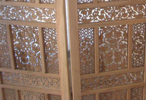 پاراوان چوبی سنتی