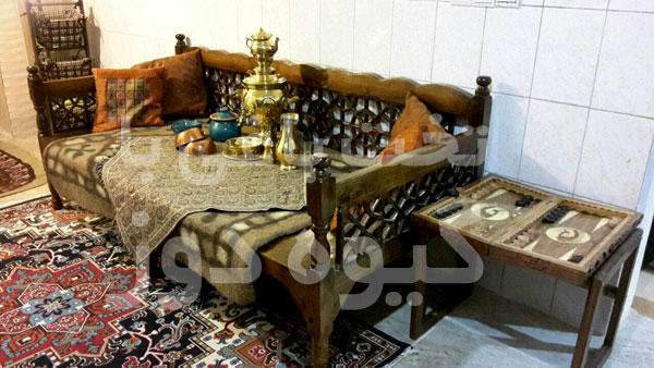 فروش تخت سنتی قهوه خانه