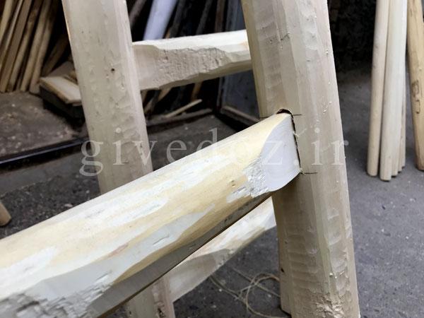 نردبان چوبی 5 متری
