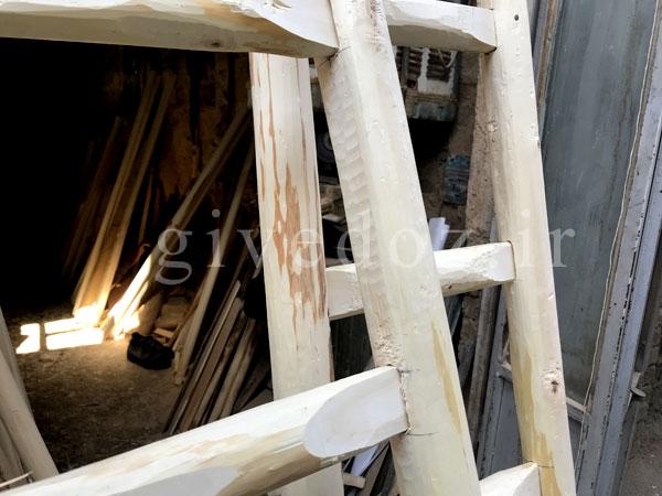 خرید نردبان پله ای سنتی