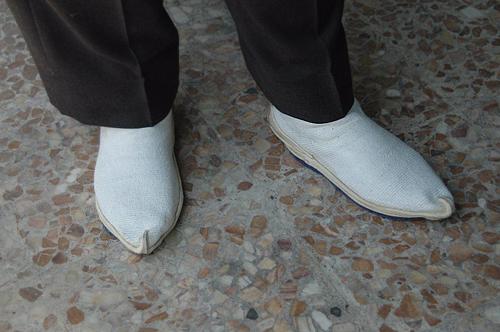 گیوه ملکی سایز 42 سفید رنگ