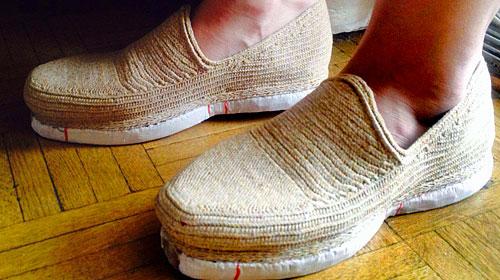 کفش زنانه کرمی