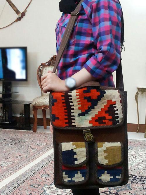 کیف گلیم دانشجویی