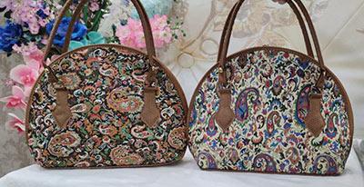 کیف ترمه دسته دار سنتی