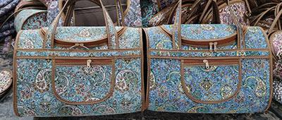 کیف صندوقی ترمه