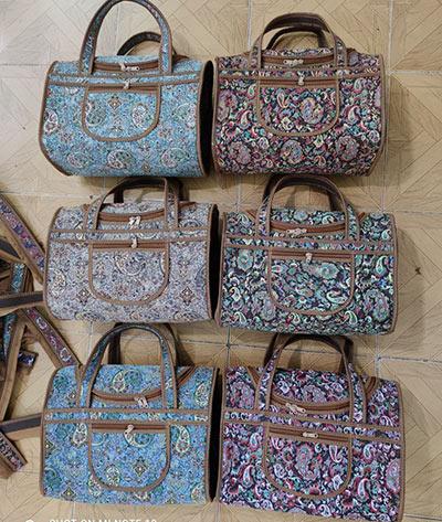 کیف صندوقی دخترانه ترمه