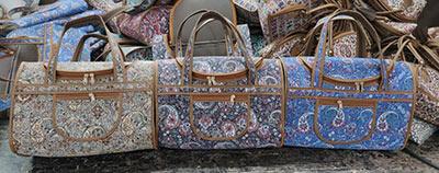 کیف صندوقی زنانه ترمه