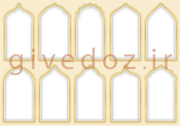 ساخت پنجره مسجد