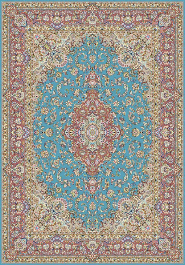 خرید فرش 9 متری دستباف یزد
