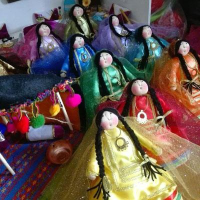 عروسک های عشایری