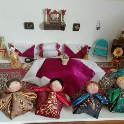 عروسک های خانه سنتی