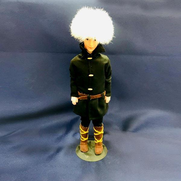 ساخت عروسک مرد ترکمن
