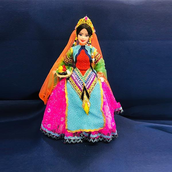 خرید عروسک زن با لباس شیرازی