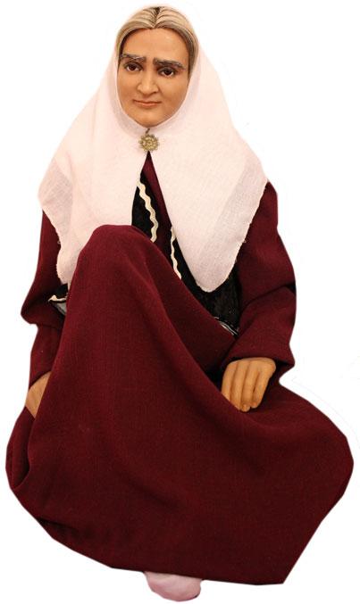 عروسک پیر زن ایرانی