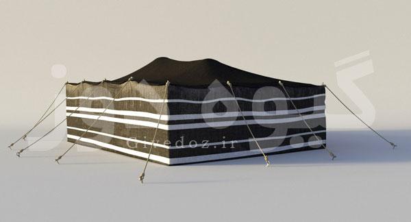 ساخت سیاه چادر قشقایی
