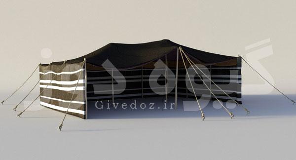خرید سیاه چادر عشایر سنگسری