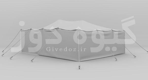 ساخت سیاه چادر عربی