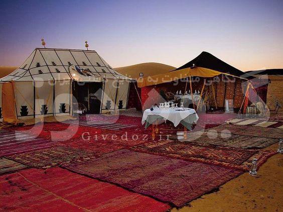 اجرای کمپ سیاه چادر قشقایی