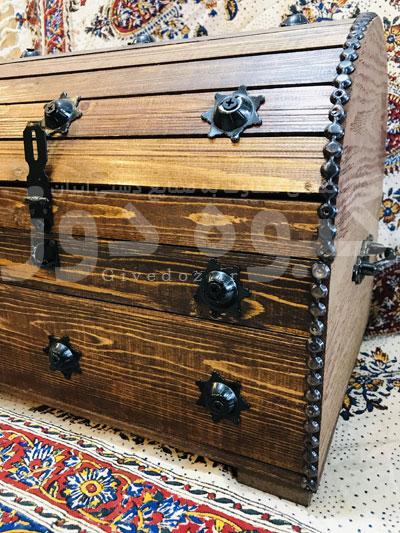 خرید صندوقچه چوبی تزیینی