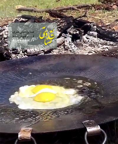 ساج برای پخت غذا