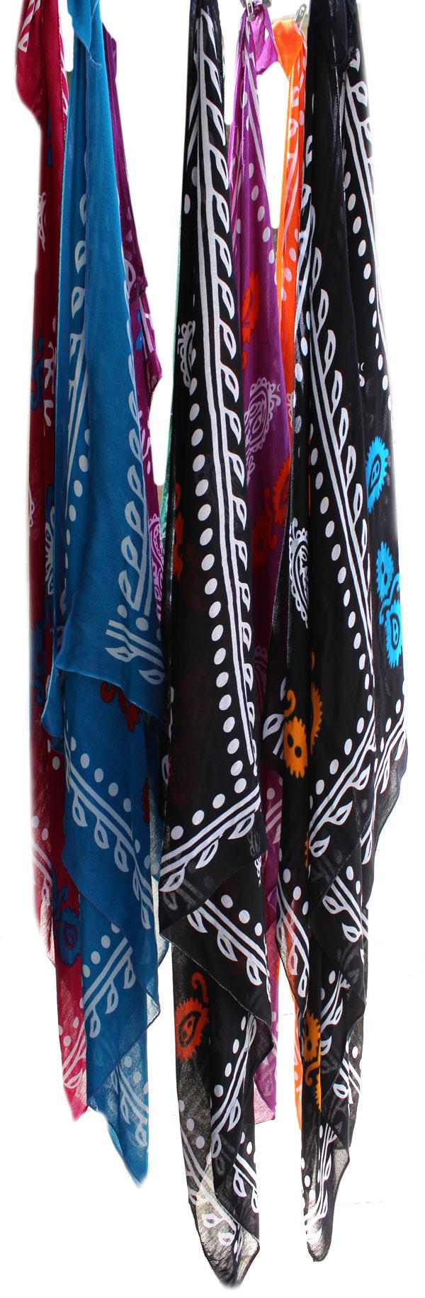 روسری گُل وَنی