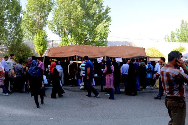 برپایی سیاه چادر در تهران