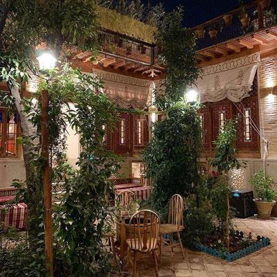 دکوراسیون سنتی خانه های شیراز